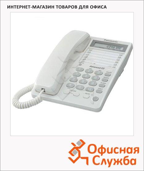 Телефон проводной Panasonic KX-TS2362RU белый