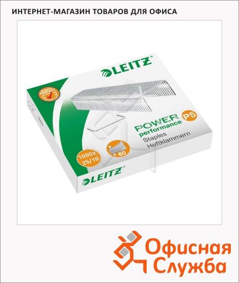 Скобы для степлера Leitz Power Performance P5 №25/10, 1000 шт, 55740000