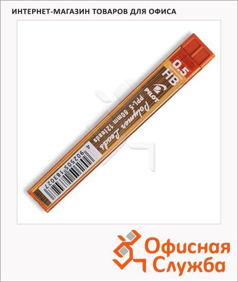 Грифели для механических карандашей Pilot PPL-7 HB, 12шт, 0.5мм