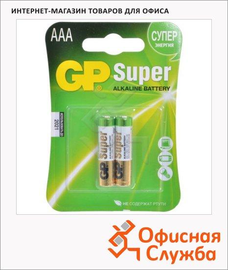 ��������� Gp Super AAA/LR03, 1.5�, �����������, 2��/��