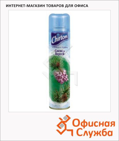 Освежитель воздуха аэрозоль Chirton сосна и вереск, 0.3л
