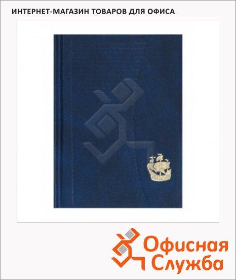 Ежедневник недатированный Attache синий, А6, 128 листов