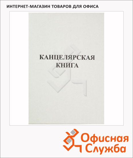 фото: Книга учета А4 картон, 48 листов, в линейку