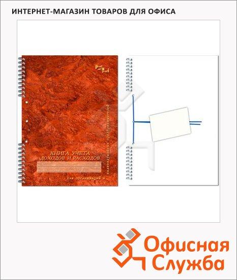 фото: Журнал Полином учета доходов и расходов А4, 96 листов, картон