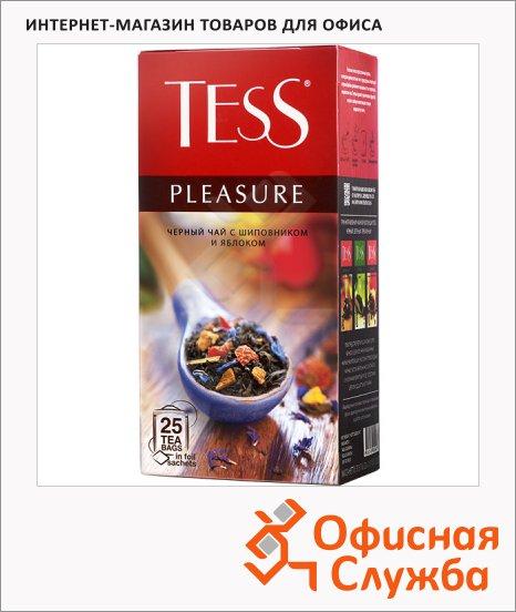 фото: Чай Tess Pleasure (Плэжа) черный, 25 пакетиков