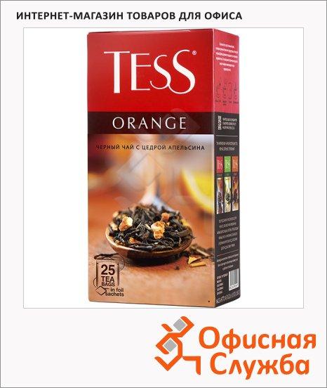 фото: Чай Tess Orange (Оранж) черный, 25 пакетиков