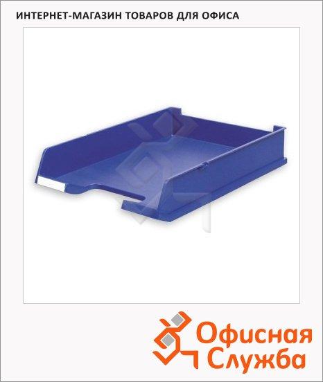 Лоток горизонтальный для бумаг Han А4, синий, 1020/14