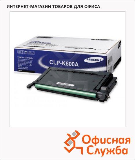 фото: Тонер-картридж Samsung CLP-K600A черный