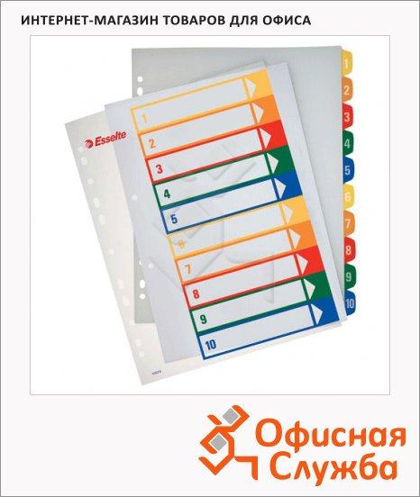 Цифровой разделитель листов Esselte Maxi 10 разделов, А4+, 100213