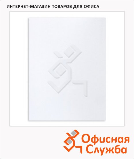 Пакет почтовый бумажный плоский Businesspack E4 белый, 300х400мм, 100г/м2, стрип, 500шт