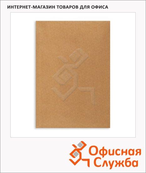 Пакет почтовый бумажный плоский Бумажные Технологии C4 крафт, 229х324мм, 80г/м2, 200шт, декстрин