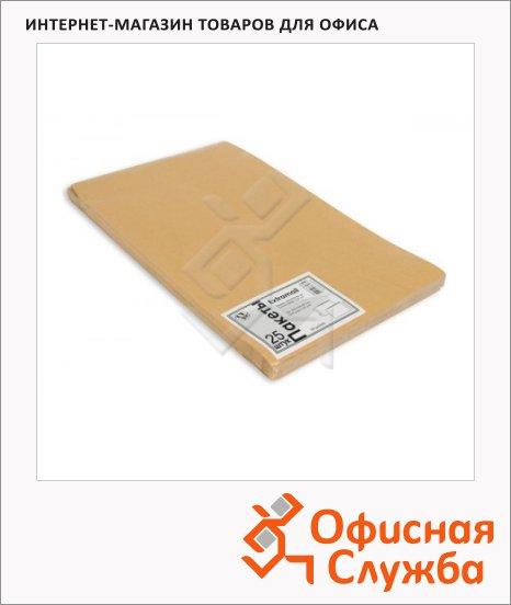 Пакет почтовый объемный Extrapack Е4 крафт, 300х400х40мм, 120г/м2, 25шт, стрип
