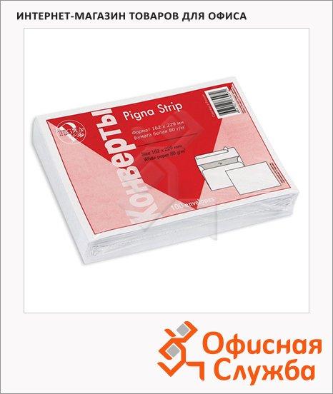 Конверт почтовый Garantpost С5 белый, 162х229мм, 80г/м2, стрип, 1000шт