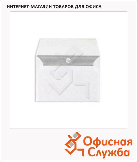 Конверт почтовый Officepost С6 белый, 114х162мм, 80г/м2, стрип, 1000шт