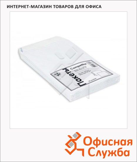 фото: Конверт почтовый Officepost Е65 белый 110х220мм, 80г/м2, декстрин, 1000шт