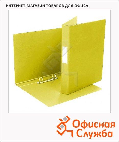 Папка на 2-х кольцах А4 Bantex желтая, 35 мм, 1300-06