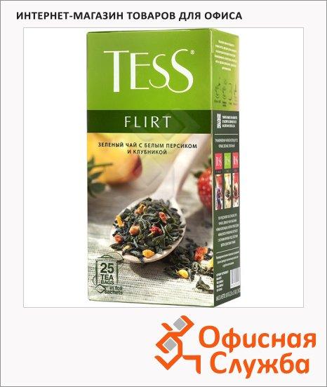 Чай Tess Green Flirt (Флирт), зеленый, 25 пакетиков