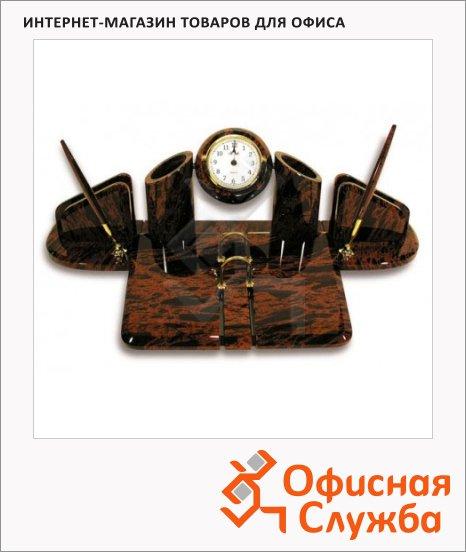Набор настольный Good Sunrise Орион 7 предметов, обсидиан