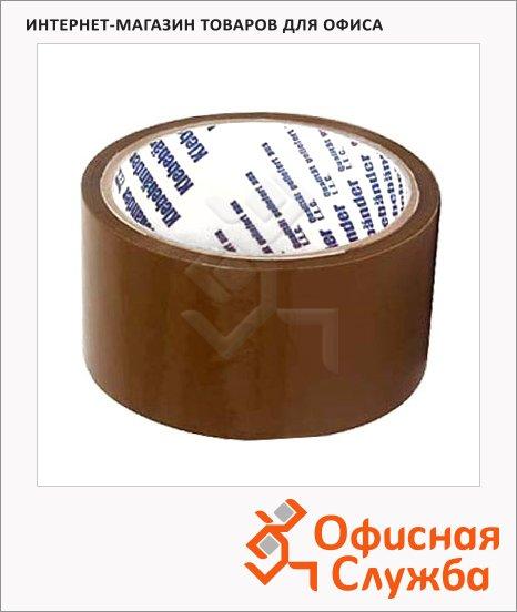 Клейкая лента упаковочная Klebebander 66мм х75м, коричневая