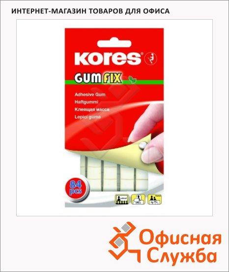 Клейкая лента-масса Kores Gum Fix 10х50м, удаляемая, 84шт/уп
