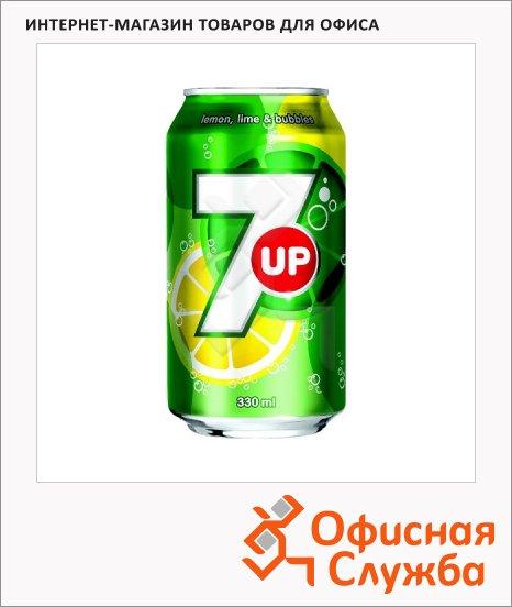 Напиток газированный 7 Up 0.33л, ж/б