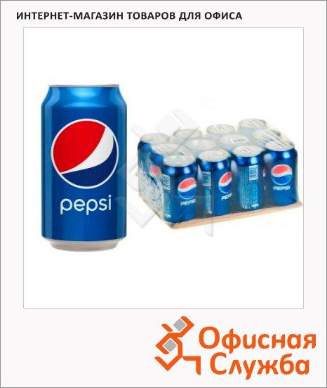фото: Напиток газированный Pepsi 330мл x 12шт ж/б