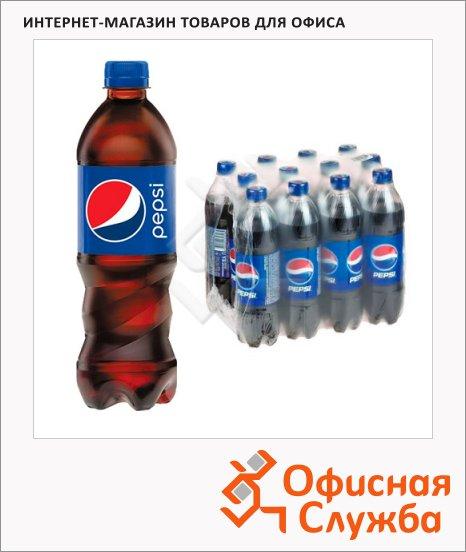 Напиток газированный Pepsi 0.6л х 12шт, ПЭТ