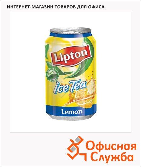 Чай холодный Lipton Ice Tea лимон, 0.33л х 12шт, ж/б