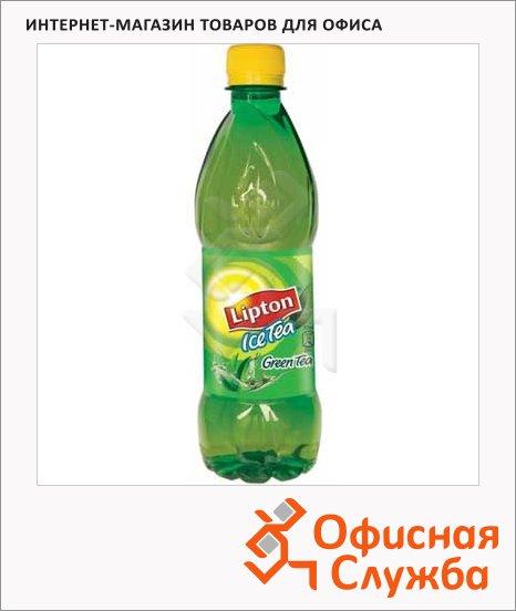 Чай холодный Lipton Ice Tea зеленый чай, ПЭТ, 0.6л х 12шт