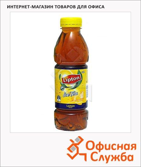 Чай холодный Lipton Ice Tea лимон, 0.6л х 12шт, ПЭТ