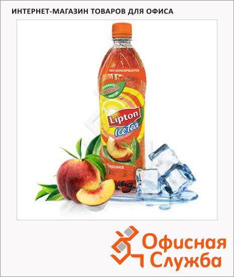 Чай холодный Lipton Ice Tea персик, 0.6л х 12шт, ПЭТ