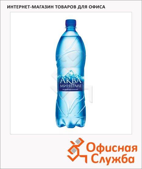 Вода питьевая Aqua Minerale газ, ПЭТ, 1.25лх12шт