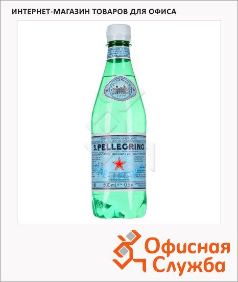 Вода минеральная Sanpellegrino газ, ПЭТ, 0.5 л