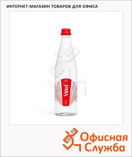 Вода минеральная Vittel без газа, стекло, 0.5л х 12шт