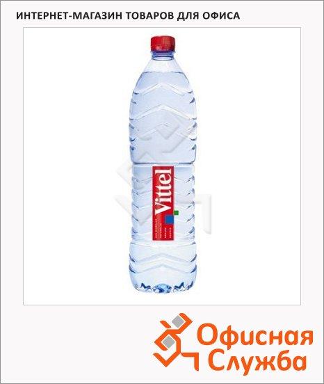 Вода минеральная Vittel без газа, ПЭТ, 1.5л х 6шт