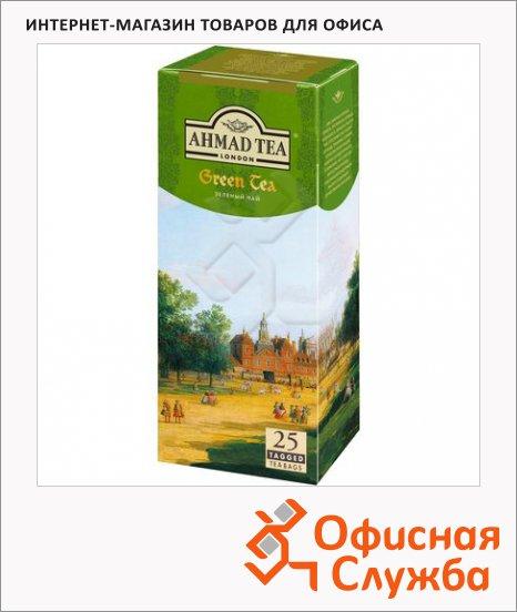 Чай Ahmad Green Tea (Зеленый Чай), зеленый, 25 пакетиков