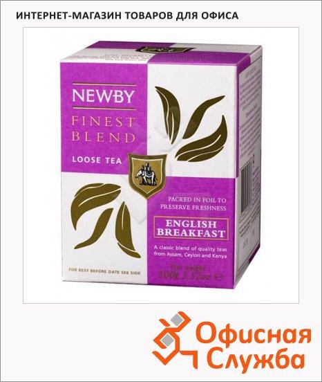 Чай Newby English Breakfast (Инглиш брекфаст), черный, листовой, 100 г