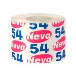 Туалетная бумага Neva Эконом без аромата, серая, 1 слой, 1 рулон