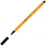 Ручка капиллярная Stabilo Point, 0.4мм, черная