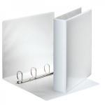 Папка-панорама на 4-х кольцах Esselte, А4, 65 мм, белая