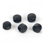 Пломбы пластиковые черные, 10x5мм, 1кг