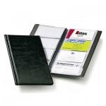 Визитница Durable Visifix на 96 визиток, черная, 253х115мм, ПВХ, 2380-01