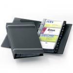 Визитница Durable Visifix на 200 визиток, антрацит, ПВХ, 2385-58