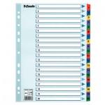 Цифровой разделитель листов Esselte Mylar 20 разделов, А4, 100163