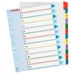 Цифровой разделитель листов Esselte Maxi 12 разделов, А4+, 100209