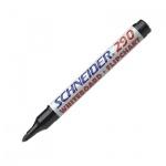 Маркер для досок и флипчартов Schneider 290 черный, 2мм, круглый наконечник