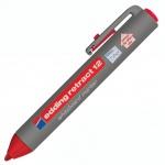 Маркер для досок Edding Retract 12 красный, 2мм, круглый наконечник, с кнопкой