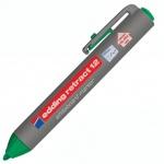 Маркер для досок Edding Retract 12 зеленый, 2мм, круглый наконечник, с кнопкой