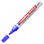 Маркер промышленный лаковый Edding 8750, 2-4мм, упроченный пулевидный наконечник, универсальный, алюминиевый корпус, синий