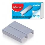 Скобы для степлера Maped №10, никелированные, 1000шт, 324105